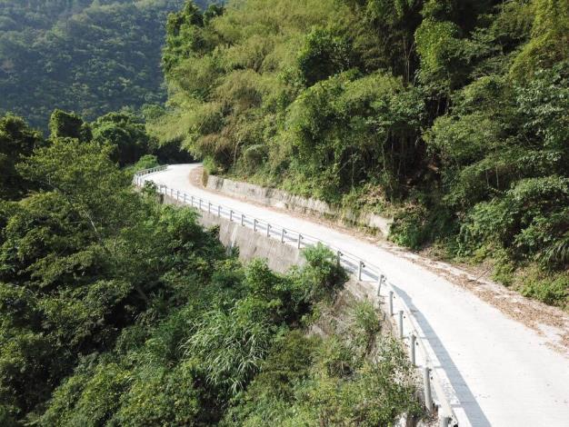 尖石鄉司馬庫斯聯絡道路等四項工程啟用 蔡英文總統到場參加 共6張圖片