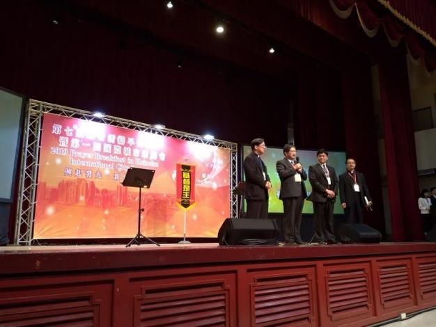 「第7屆新竹祈禱早餐會暨第一屆國際城巿祈禱會」 縣府大禮堂登場 共5張圖片