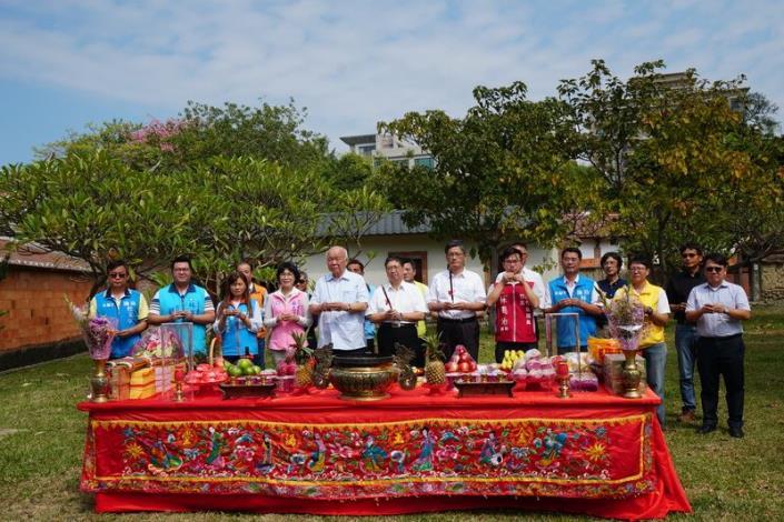 竹北東興圳景觀再造二期工程動土   客委會楊副主委肯定是全國未來開發的模範 共5張圖片