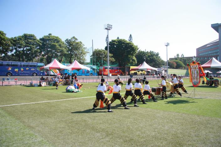 再造竹縣之光! 新港國小舞獅隊勇奪全國民俗體育競賽四冠王 共2張圖片