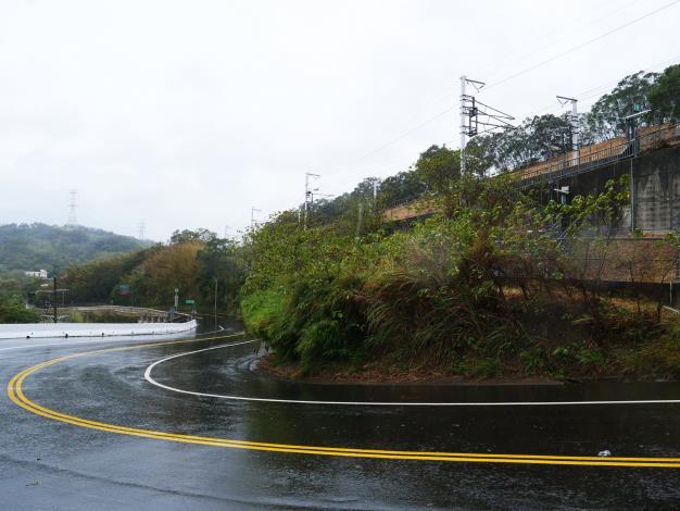 寶山路二段改善竣工 通往園區更安全!  共4張圖片