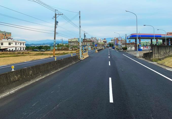 竹縣「路平專案」58處路段41.3公里順利竣工 今年再編列1.7億改善道路 共4張圖片