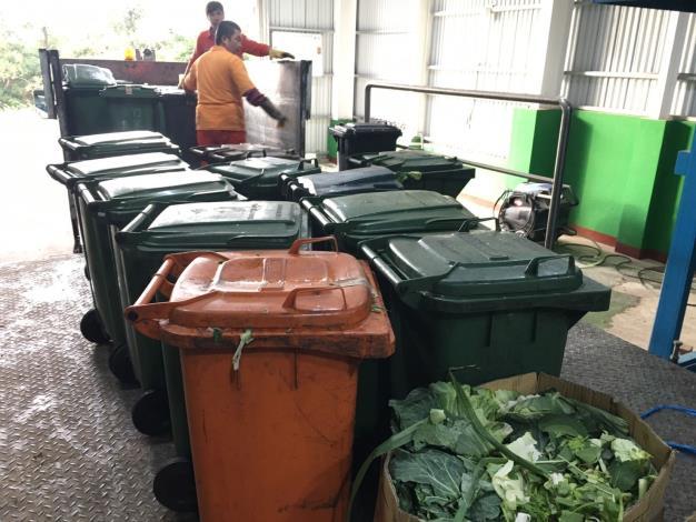 廚餘回收處理廠2.0啟用         加速發酵回收利用並有效降低異味 共3張圖片
