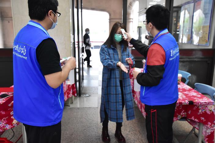 加強防疫 楊縣長宣布4月13日起實施「分區辦公」