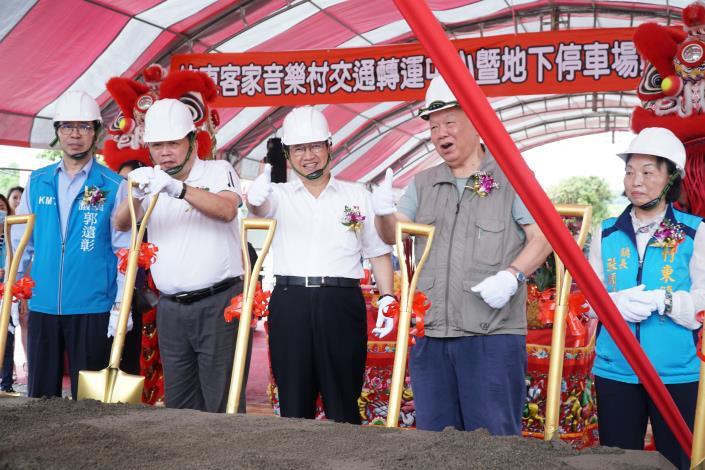 新竹縣第二大運輸轉運核心來了! 耗資3.2億「竹東交轉中心」預計111年完工
