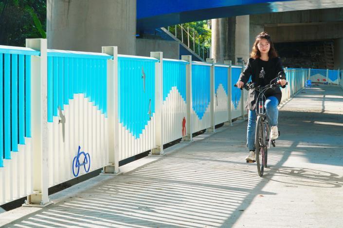 單車族福音!頭前溪南岸經典自行車道9月即將完工