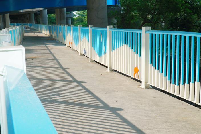 單車族福音!頭前溪南岸經典自行車道9月即將完工 共3張圖片