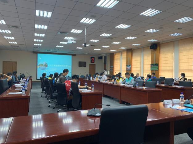 縣府召開「新竹縣市區客運路網檢討及規劃案」地方說明會 共3張圖片