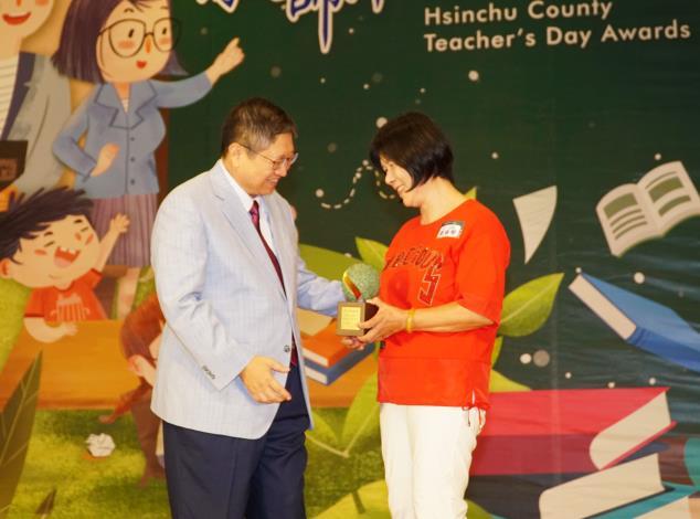 楊縣長表揚416名教師 推出「一日老師」影片向老師致敬 共19張圖片