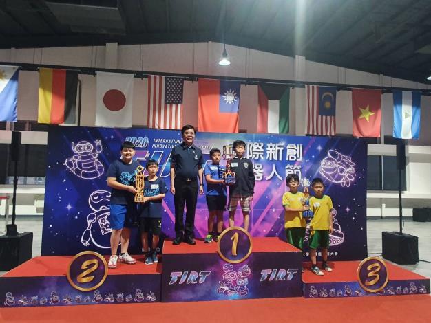 2020 TIRT 全能機器人國際邀請賽,竹縣選手獲佳績!
