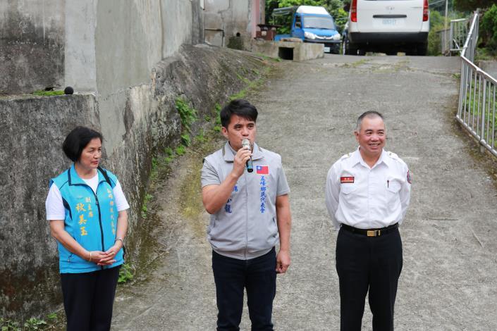 新竹縣政府消防局花園小隊啟用揭牌 共4張圖片