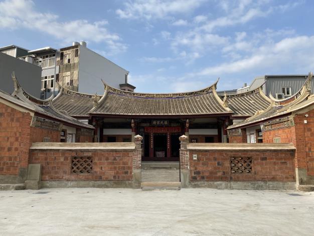 新埔張氏家廟修復竣工,新竹縣首座古蹟兒童故事屋誕生