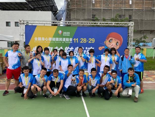 全國身障運動會新竹縣獲5金6銀4銅 十年來奪牌數最多 共6張圖片