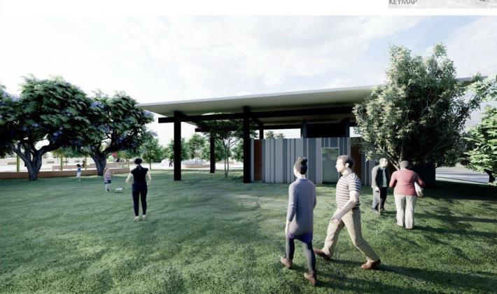 兒十公園明年年初啟用 打造「青銀共存」公園規劃無障礙設施 共8張圖片