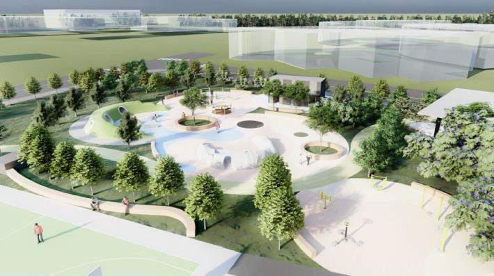 兒十公園明年年初啟用 打造「青銀共存」公園規劃無障礙設施