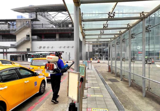 新竹縣大眾運輸加強消毒工作   2/1起雙鐵、客運、公車禁止飲食
