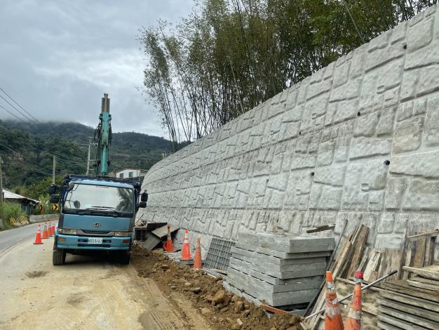 縣道122 線(南清公路)瓶頸路段打通工程  趕在春節前通車