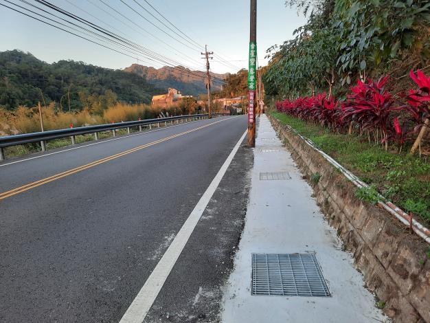 羅馬公路26處水溝加蓋增路幅 熱門觀光路線安全升級