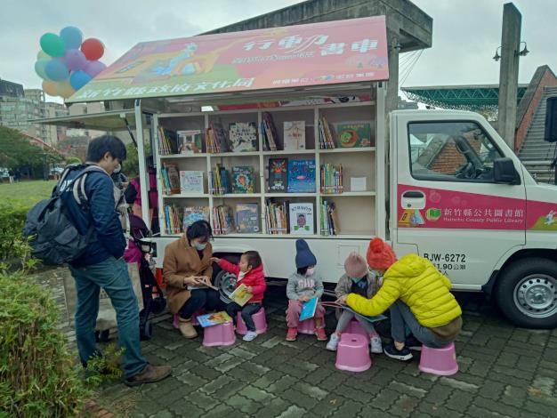 新竹縣「行動書車」首站3月6日出發 超Q限量動物悠遊卡借閱證快來換! 共4張圖片