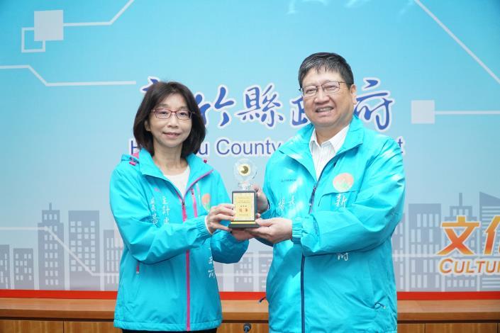 新竹縣 109 年地方政府公務統計業務績效評核 榮獲縣市組最高 評等「優等」