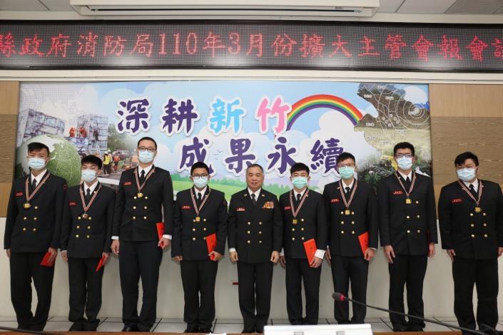 一月份急救成功率  竹縣消防勇奪全國第一 共5張圖片