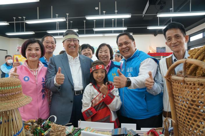 全國第一     新竹縣原住民族文化教育產業推廣中心竣工 共5張圖片