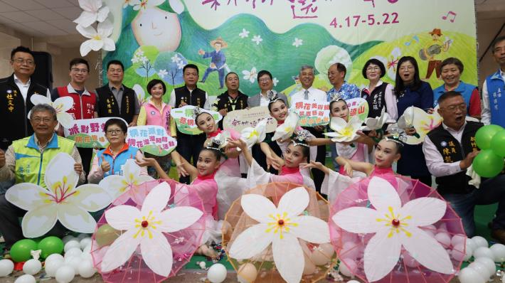 新竹遶桐花  2021客家桐花祭開跑  4輕旅路線邀您來賞桐 共3張圖片