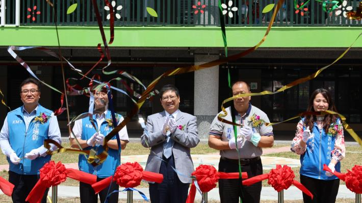 關西石光國小新校舍啟用 三合院式建築融合傳承和創新