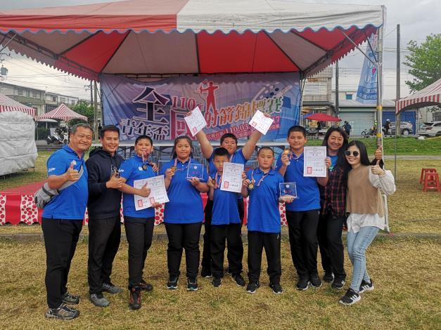 竹縣射箭聯隊拿下全國青年盃冠軍及季軍 合力勇奪3金2銀3銅