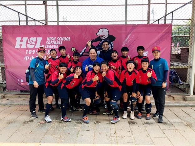 竹縣員東國中女壘獲聯賽甲級全國第四名 刷新隊史紀錄