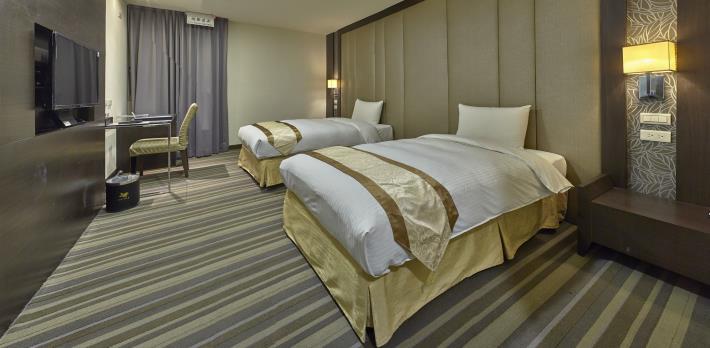 竹北悅豪大飯店加入防疫旅館行列 竹縣府號召更多業者加入 共2張圖片