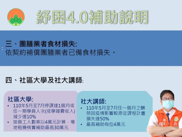 教育部紓困4.0方案看這! 竹縣府成立為民服務洽詢專線 共5張圖片
