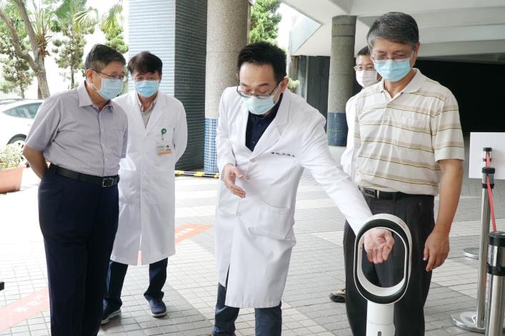 竹竹苗防疫作戰聯盟成立加強防疫力道  新竹縣完成首座大型疫苗接種站 共4張圖片
