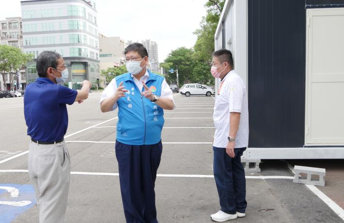 竹縣新增3個社區免費篩檢站 預計下週完成整隊提供服務 共5張圖片