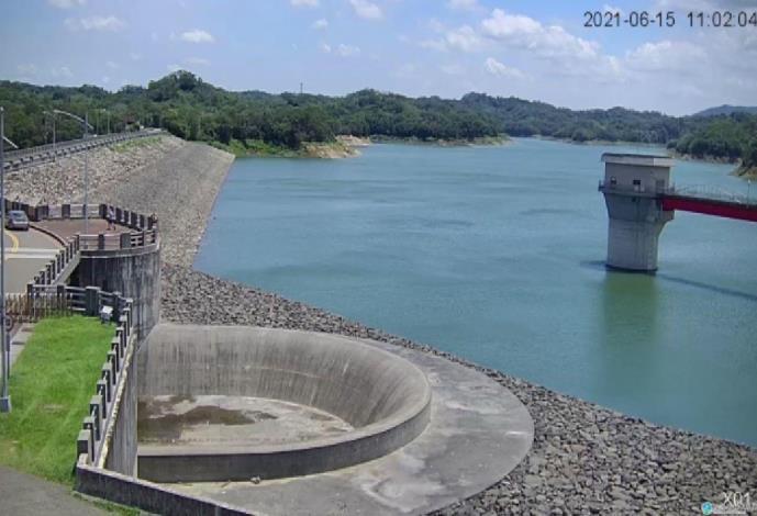 梅雨鋒面助寶山2水庫水量進帳 新竹縣公告4大項調降節水力道
