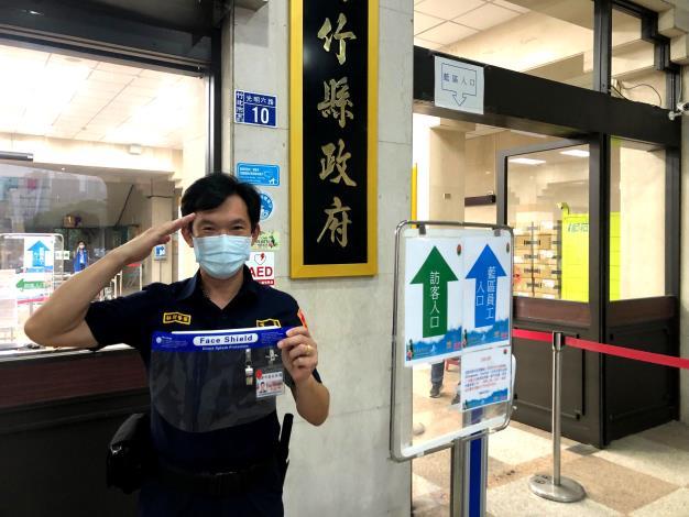 挺前線、護竹縣 慈善單位和善心人士捐防疫物資住第一線人員