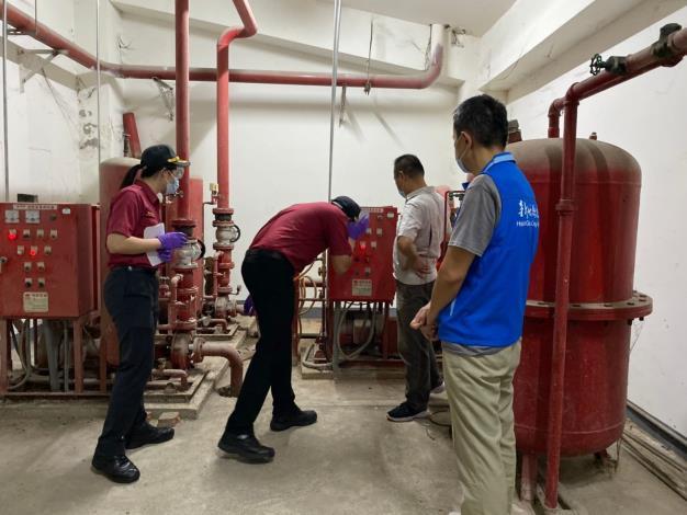 竹縣防疫旅館加強消防安檢 讓入住者安心檢疫隔離