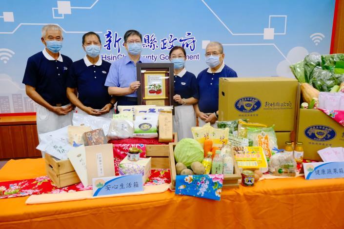 竹縣府與慈濟合作供應蔬菜、食品5896箱物資助千名弱勢學童3