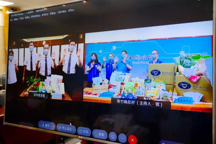 竹縣府與慈濟合作供應蔬菜、食品5896箱物資助千名弱勢學童7