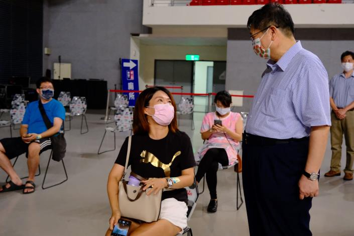 竹縣+0 第4輪2.8萬預約額滿 爭取短缺疫苗