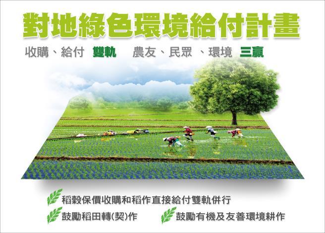 對地綠色環境給付計畫