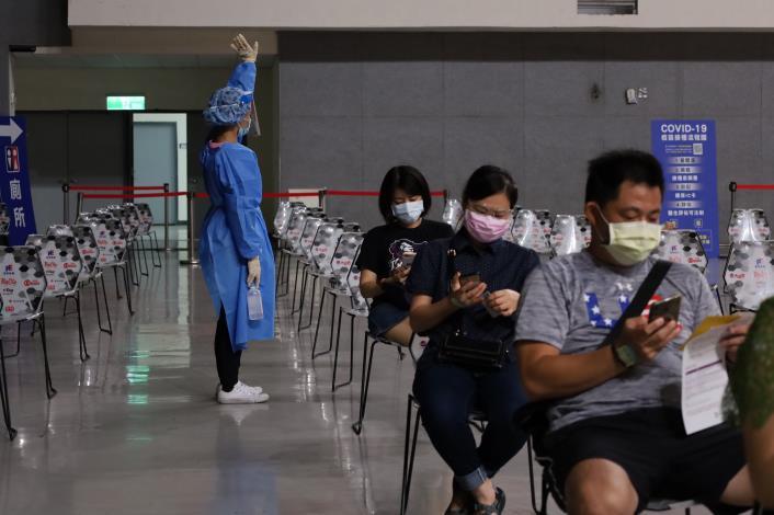 第7輪竹縣約4萬人完成接種 籲第9輪踴躍登記 共3張圖片