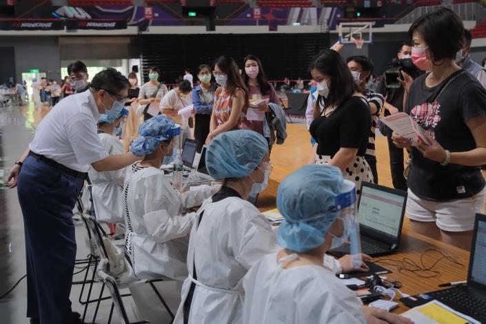 第7輪竹縣約4萬人完成接種 籲第9輪踴躍登記