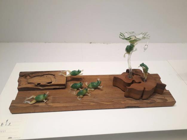 玻璃的印象藝術-鄭木連個展     文化局美術館登場 共4張圖片