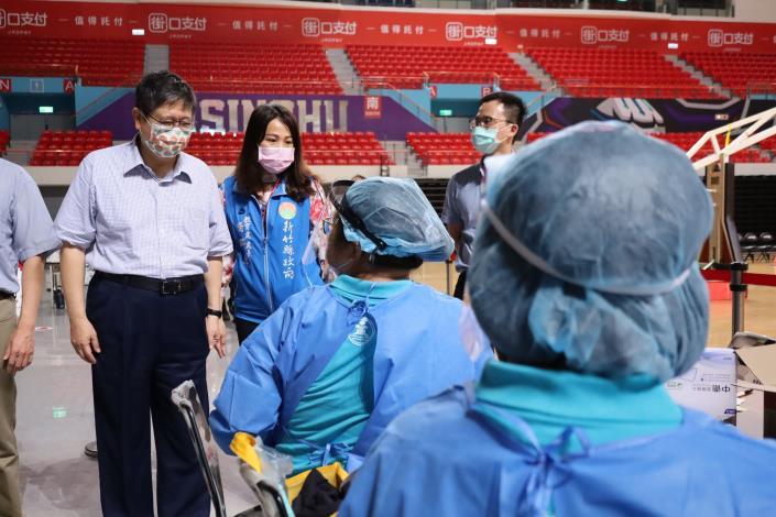 竹縣+0第8輪疫苗預約平台今接種 23日開始青少年BNT疫苗施打專案