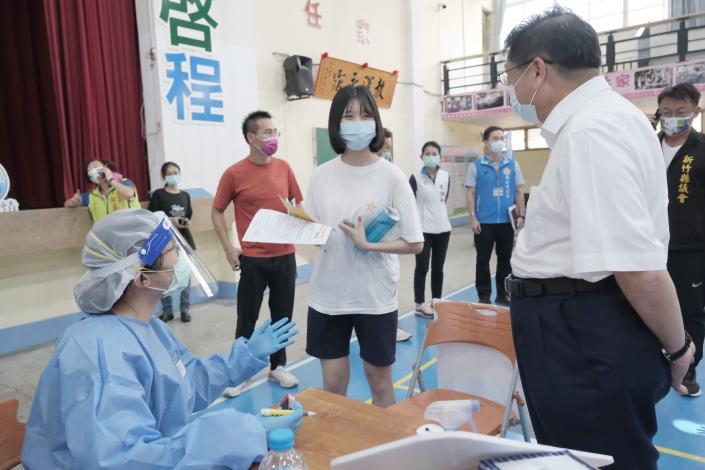 竹縣+0第9輪疫苗、75歲以上莫德納第2劑開打  共5張圖片