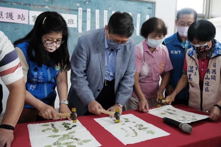 關西南山社區結合渡南古道 用陶藝、繪畫述說在地故事 共6張圖片