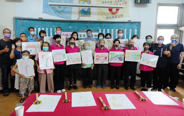 關西南山社區結合渡南古道 用陶藝、繪畫述說在地故事