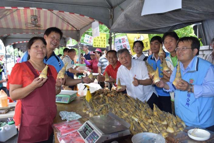 夢幻食材寶山綠竹筍大集合寶山水庫綠竹筍展售