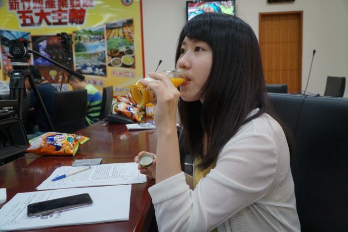 桶柑果汁與果醬成品發表會 縣府分享成功秘訣